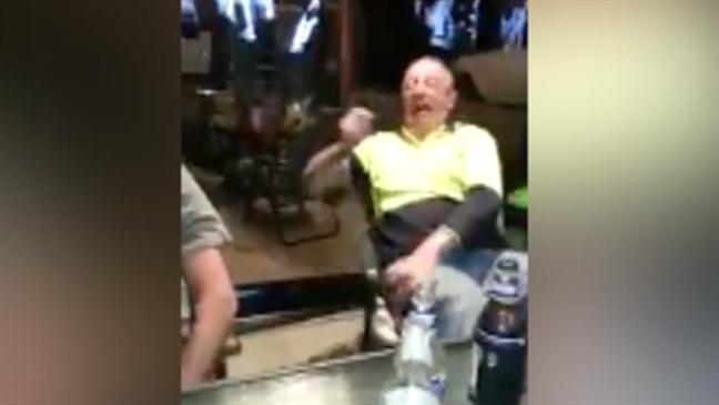 Drunk Aussie man Playing with a Taser – JAMAUSSIE