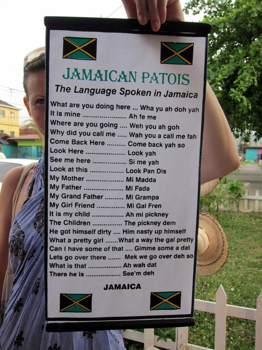 Jamaican Patois (Patwa) for Dummies.