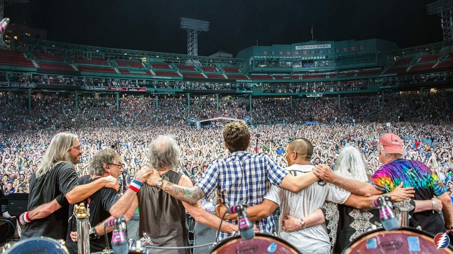 Dead  Company Conclude Visit To Fenway Park In Boston