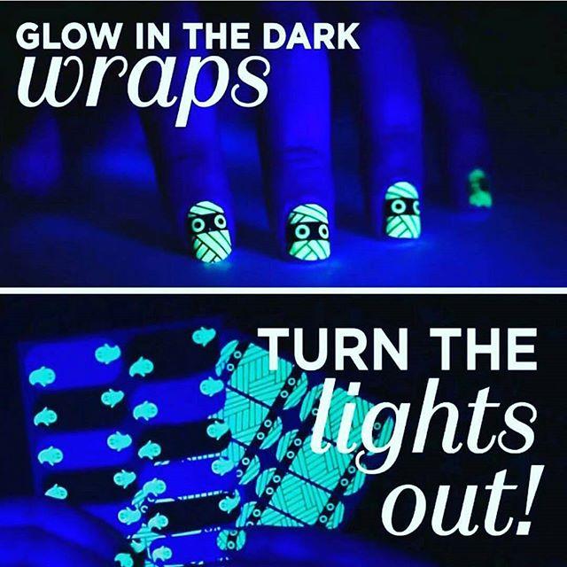 Glow in the Dark Halloween Wraps