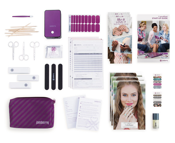What is in a Jamberry Starter Kit?