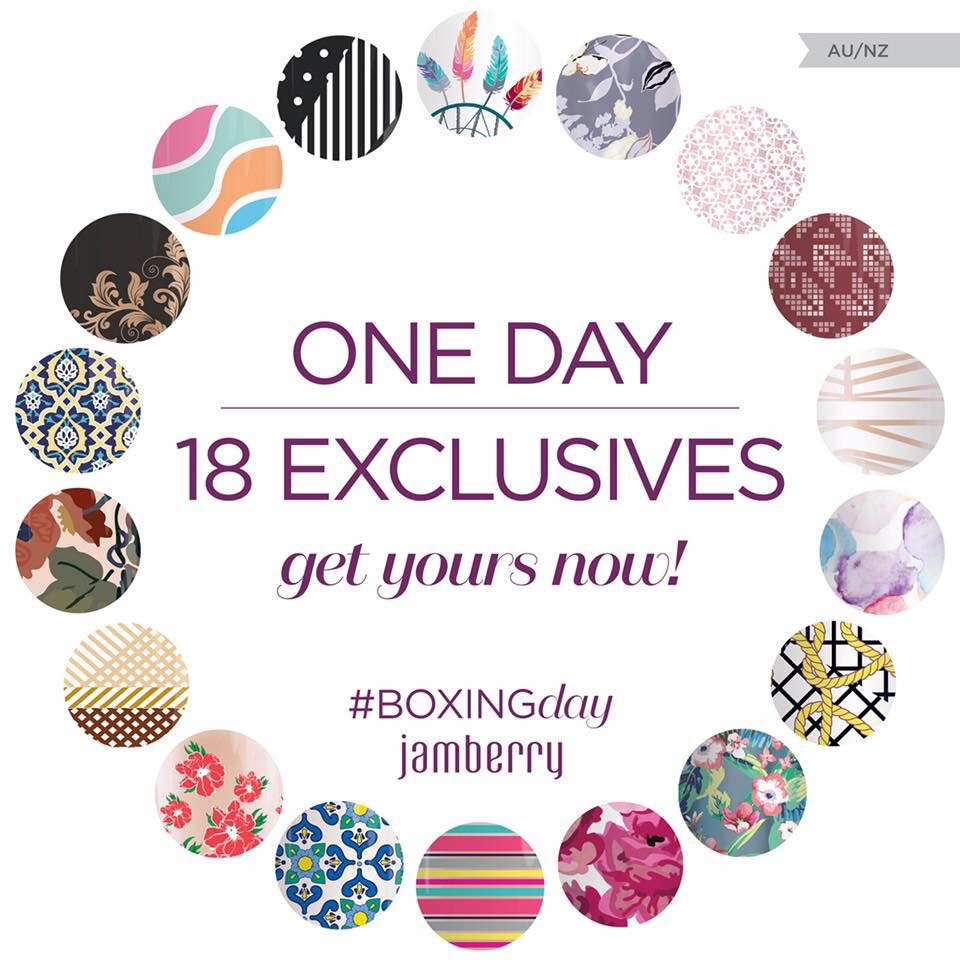 Jamberry Boxing Day Sale