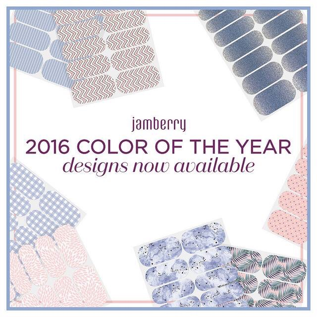 2016 Jamberry Colour of the Year Releases