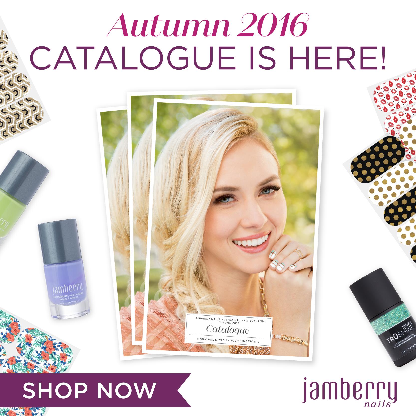 Autumn 2016 Catalogue is LIVE!