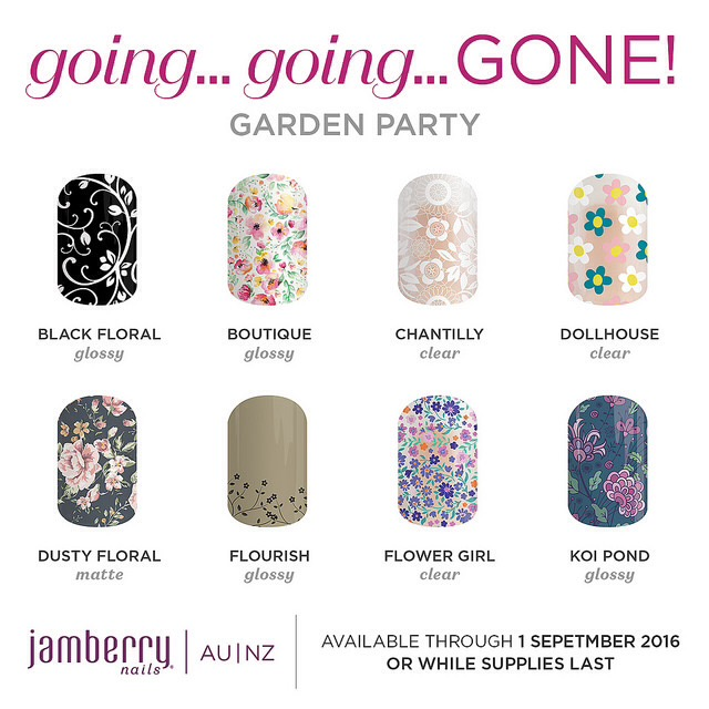 Going Going Gone August 2016