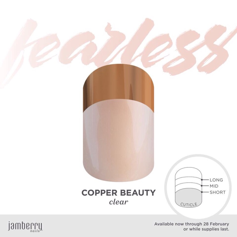 February Be Fearless Exclusive – Copper Beauty