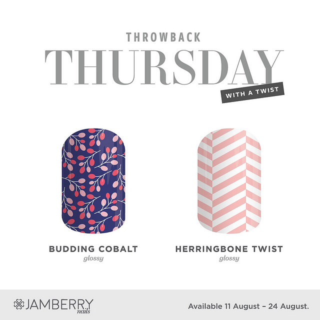 Throwback Thursday – Budding Cobalt & Herringbone Twist