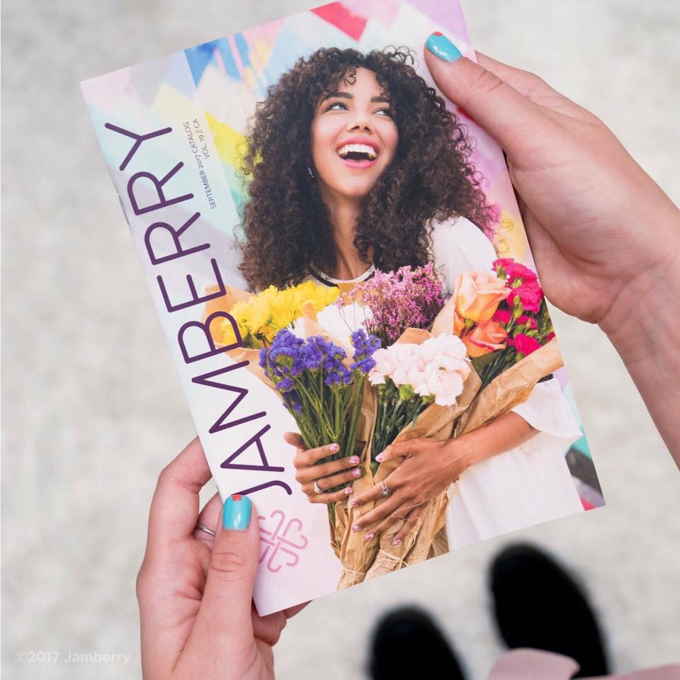 Jamberry September 2017 Catalogue