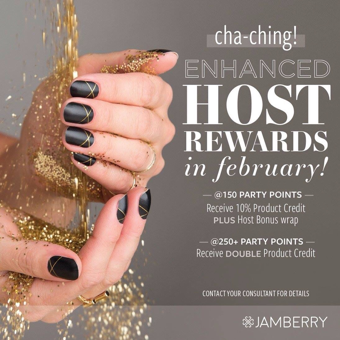 Double Host Rewards in February!!