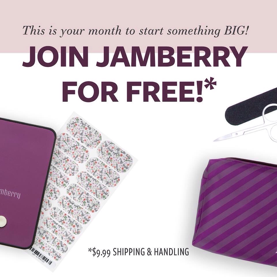 Join Jamberry For FREE in April - Jambeautiful