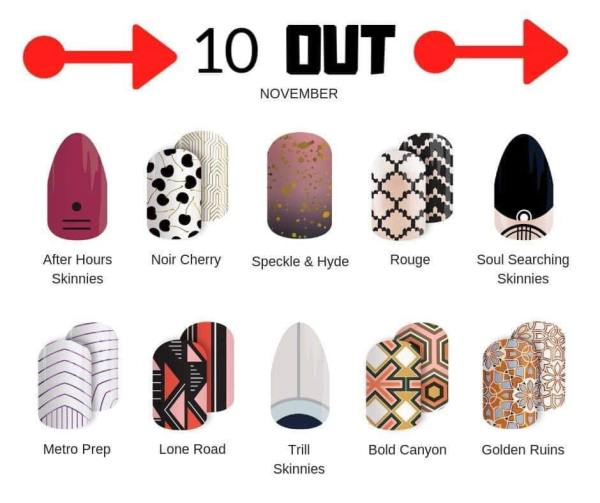 Jamberry 10 Out November