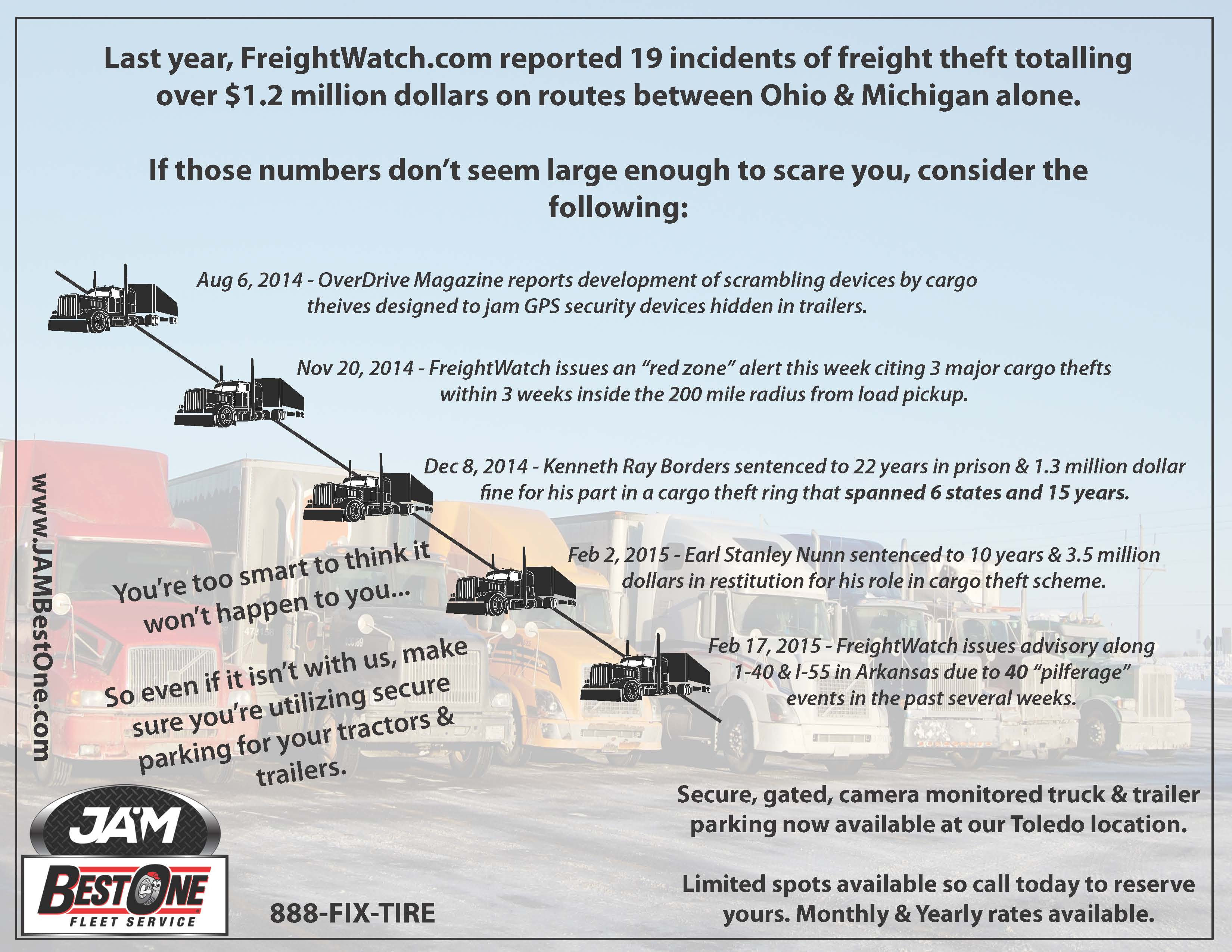 Freight Theft Infographic