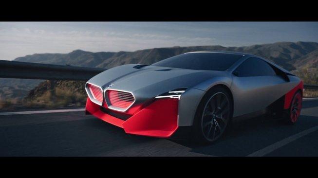 Mobil Elektrik BMW Vision M NEXT. (YouTube)