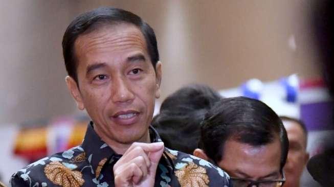 Presiden Jokowi di Istana Negara, Jakarta. [Foto Biro Pers Setpres]