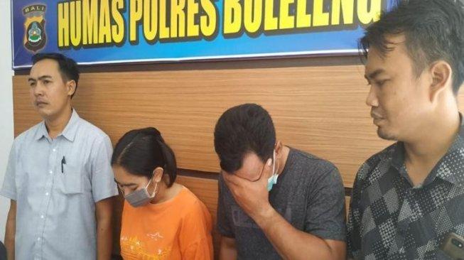Dua tersangka honorer di Bali ditangkap Polres Buleleng karena melakukan aktivitas seks threesome. [Berita Bali]