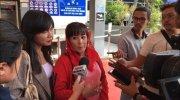 Politikus PDIP Dewi Tanjung melaporkan penyidik senior Komisi Pemberantasan Korupsi (KPK) Novel Baswedan ke polisi, atas dugaan penyebaran berita bohong. [Suara.com/Yosea Arga Pramudita]