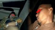 oknum pns pingsan dalam mobil