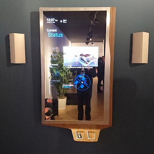 Innovative Smart Mirror at CES 2016  jambit GmbH