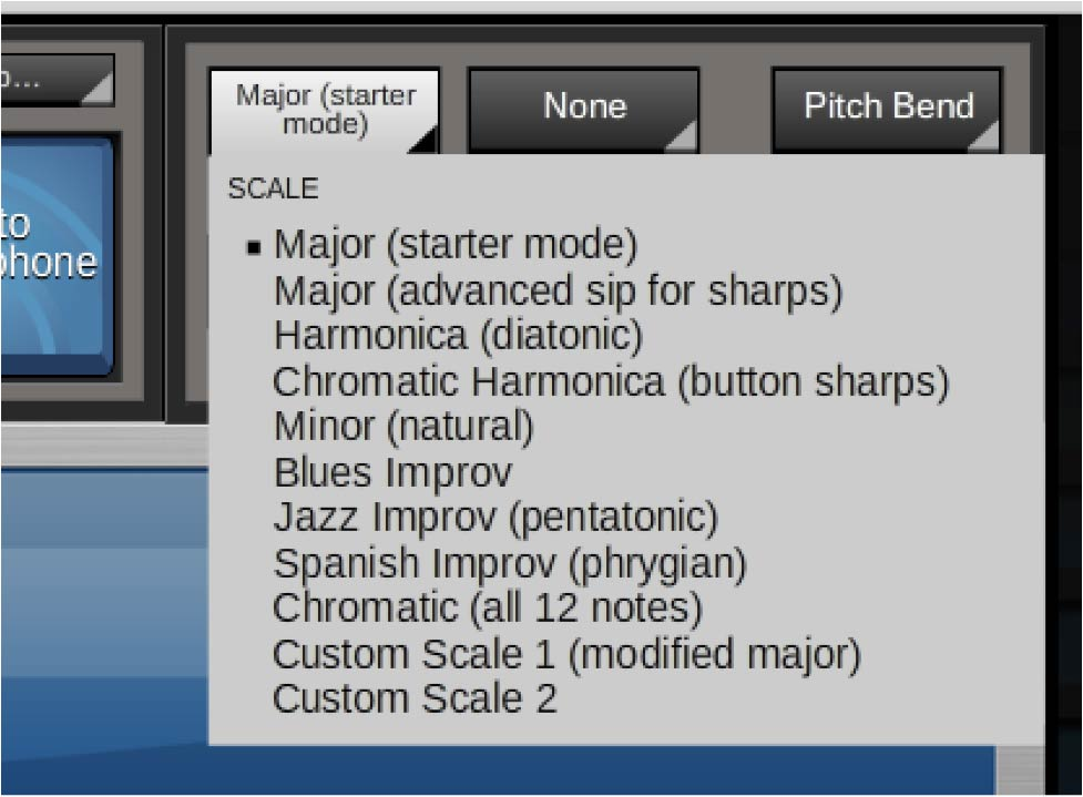 Jamboxx Pro Suite software - scale
