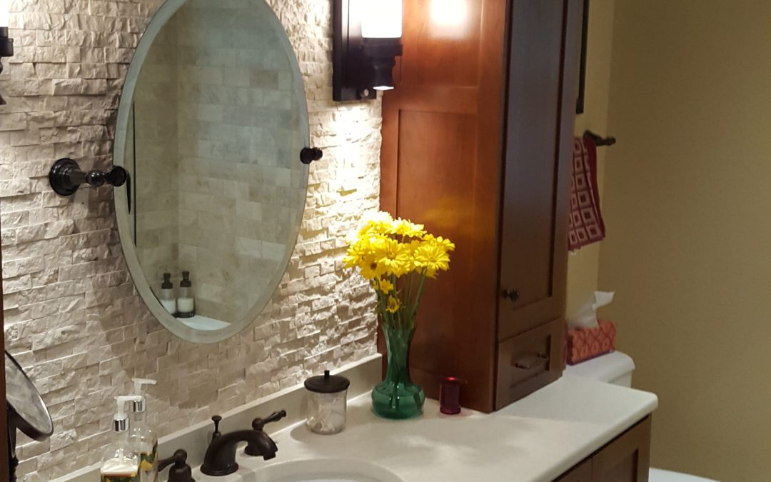 Big Change in a Small Way: Bathroom Remodel
