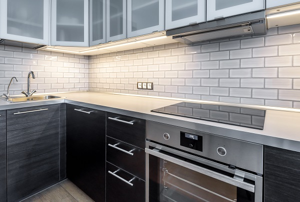 ceramic stove top for a kitchen remodel