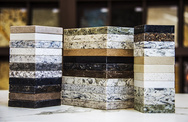 countertops for a bathroom remodel