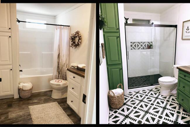 bathroom remodel can feel bigger