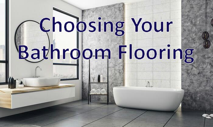 bathroom remodel flooring focus