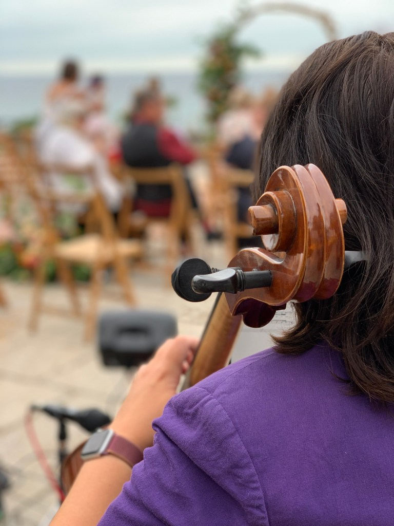 Anne Marie - Cellist for JAM Duo