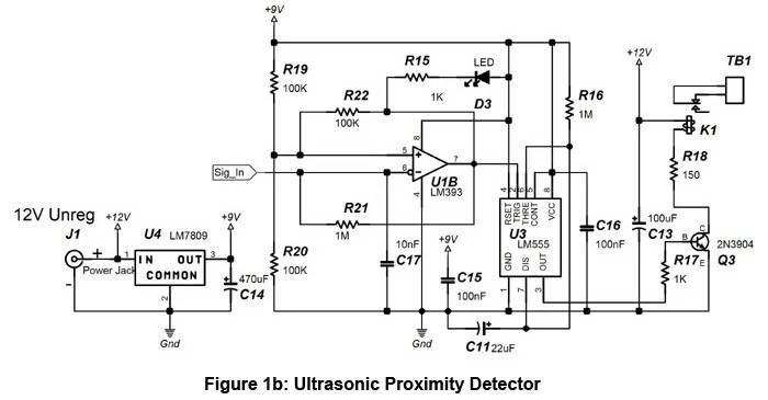 Ultrasonic Proximity Detector