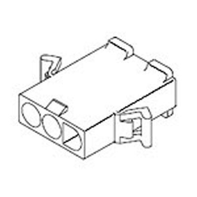 19-09-2036: Molex : .093 Pin and Socket Plug 600 Volts 6