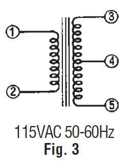 P-8662-R: Jameco Valuepro : Power Transformer 24VCT@2A