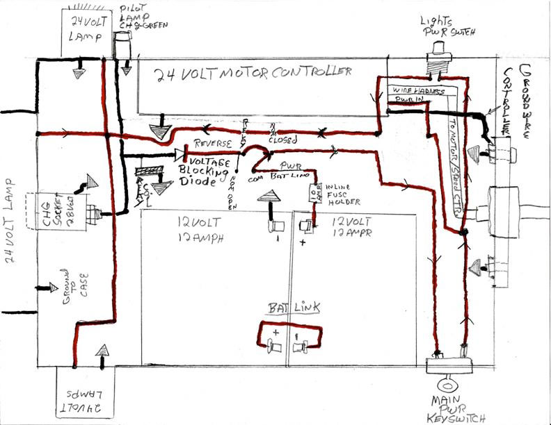 scooter controller schematic diagram wiring for hvac unit building my own e-bike
