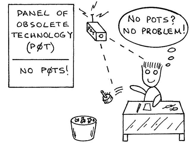 Jameco Electronics Puzzler: Non Potentiometer
