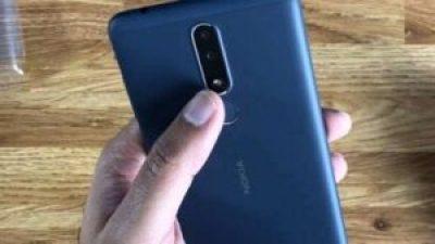 Nokia 3.1 Plus camera