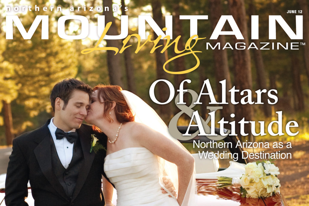 Flagstaff magazine wedding