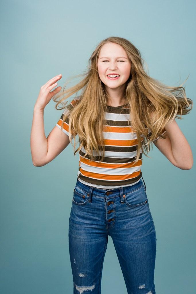 Flagstaff children studio portrait