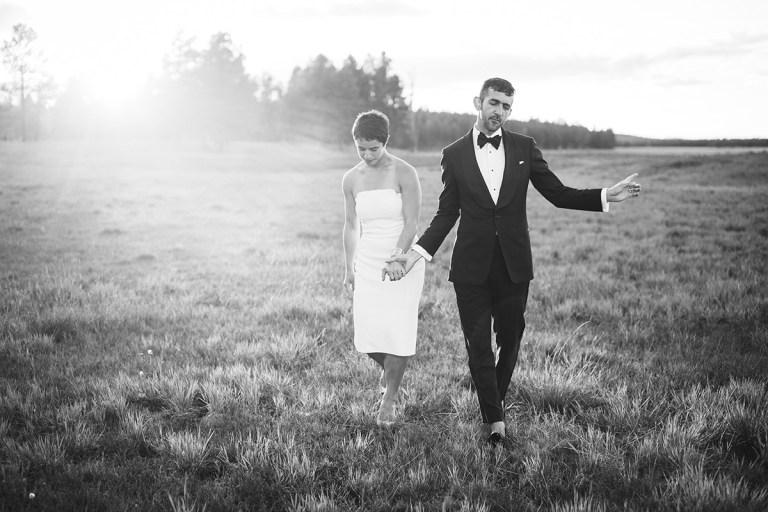 Flagstaff Rogers Lake Wedding