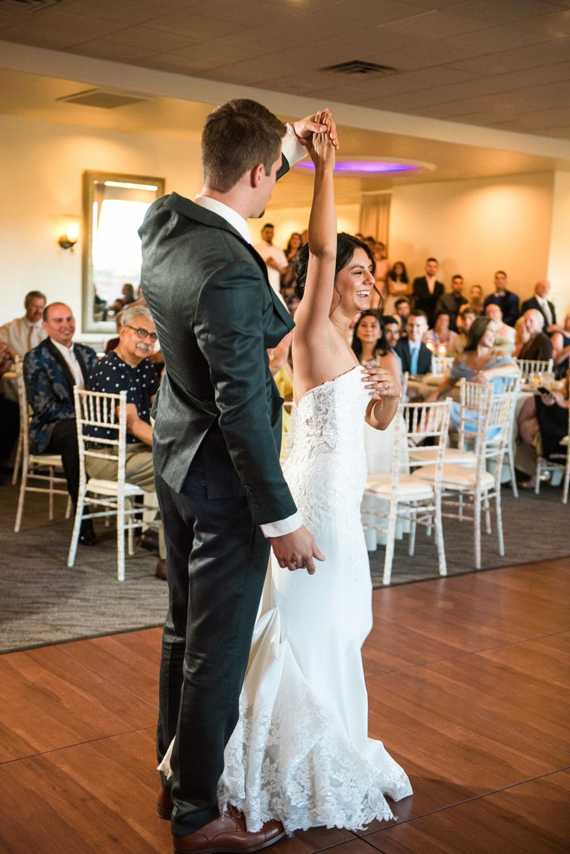 Agave Sedona wedding first dance