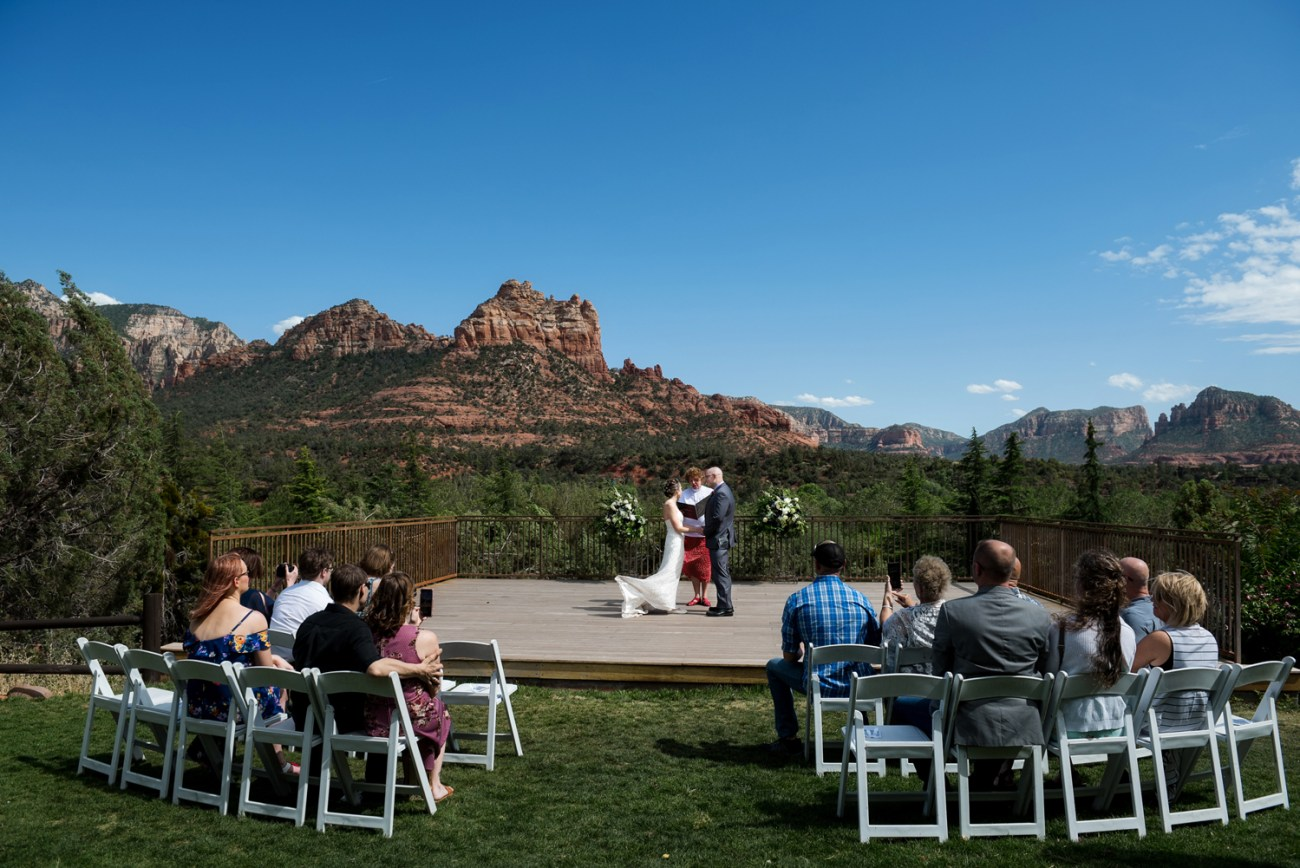 L'Auberge de Sedona ceremony at spirit song
