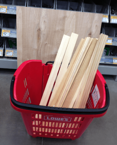 Total Cost Of Wood Was Around 23