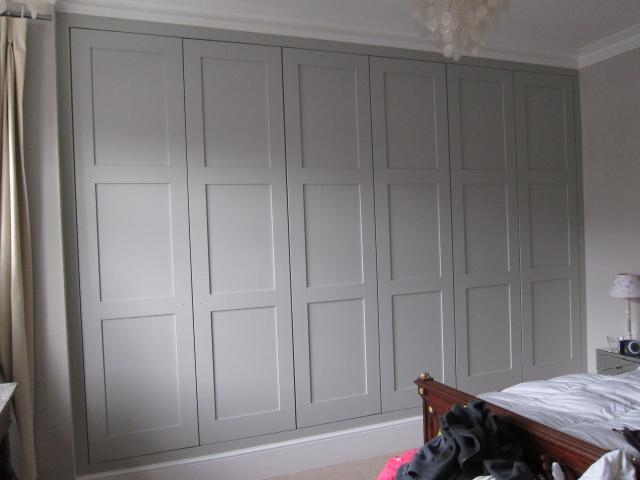 White Wardrobe Closet Mirror