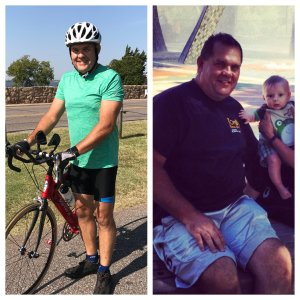 These images are about 4 years apart. I started working out in 2016 and really kicked it into high gear in April 2017 and lost over 45 pounds in about a year.