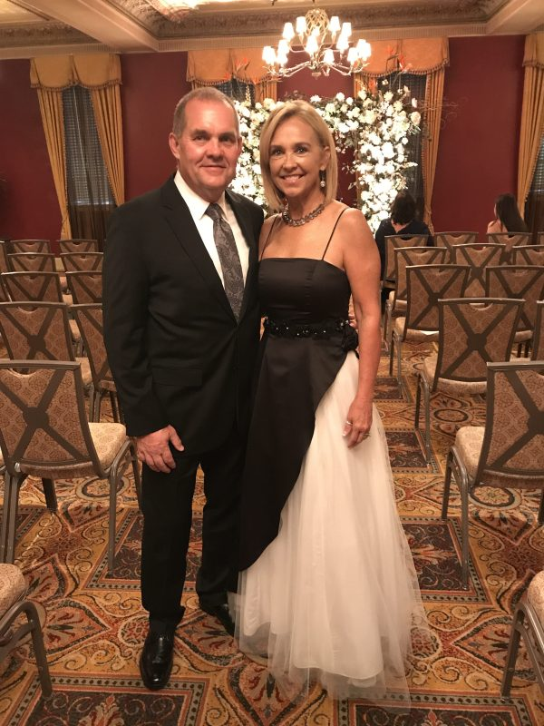Kay and I attended a wedding in fall 2017. I had to buy a new suit since I lost over 45 pounds in the past year.