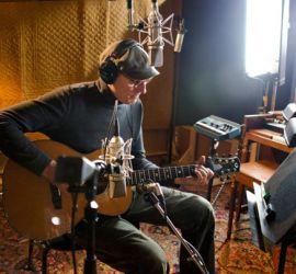 JT in the studio