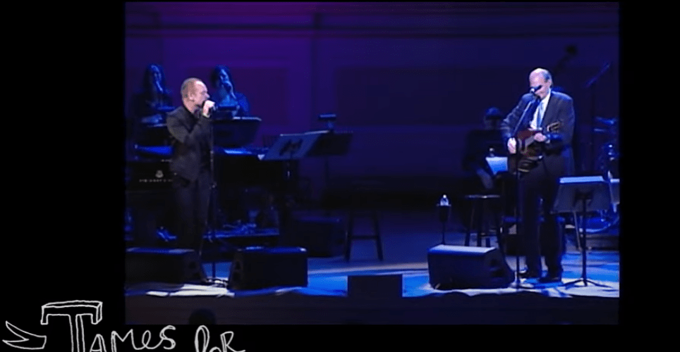 James Taylor at Carnegie Hall 2011