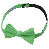 Mint Green Chambray Cotton Self Tie Thistle Bow Tie ...