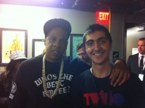 (Shahed with Jay-Z)
