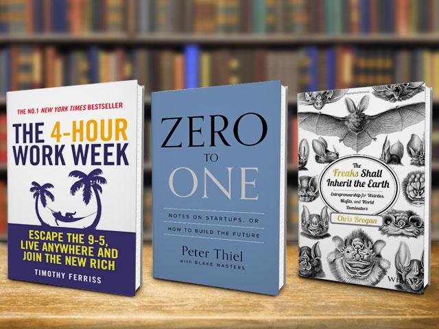 25 libros de emprendedores éxitosos