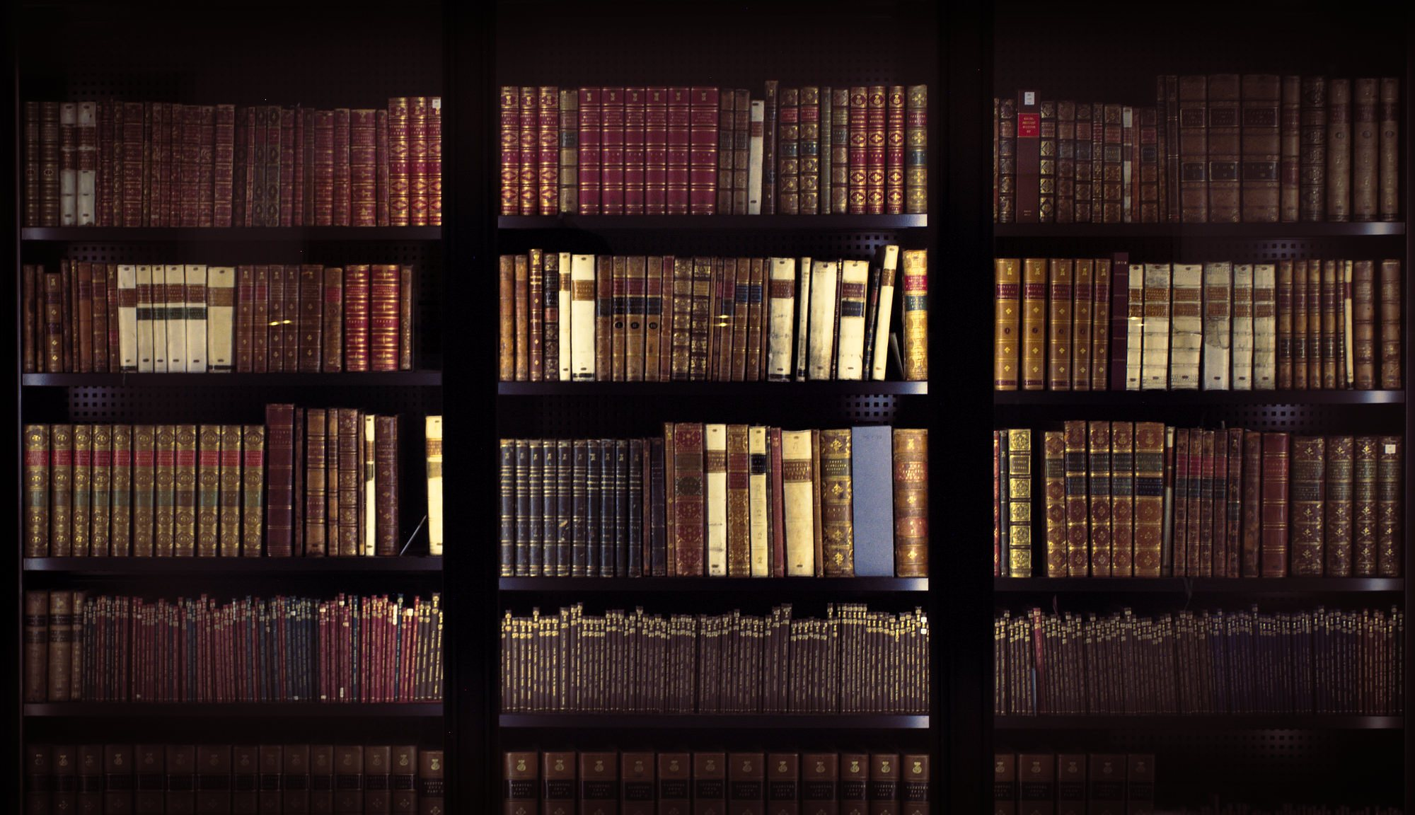 The King's Collection of books, by Gael Varoquoax on Flickr, via CC license